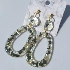 Glittery Bat Earrings